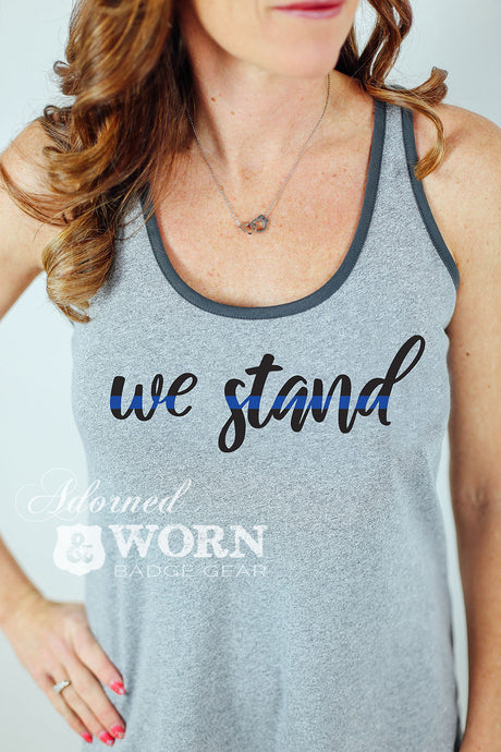 We Stand | Racerback Tank