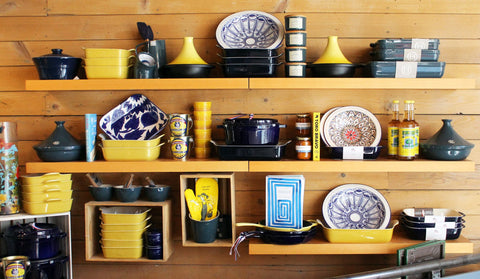 A selection of local cooking ware