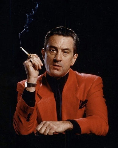 "Robert De Niro as Sam ""Ace"" Rothstein, a low-level Las Vegas mobster, in Casino"