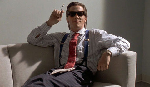 Christian Bale as Patrick Bateman in American Pyscho