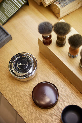 Shave brushes and accessories to pair with your Straight Razor from Adesso Man