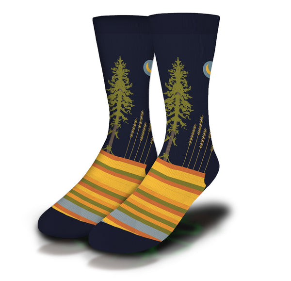 IFSSA  Prairie Fields Socks