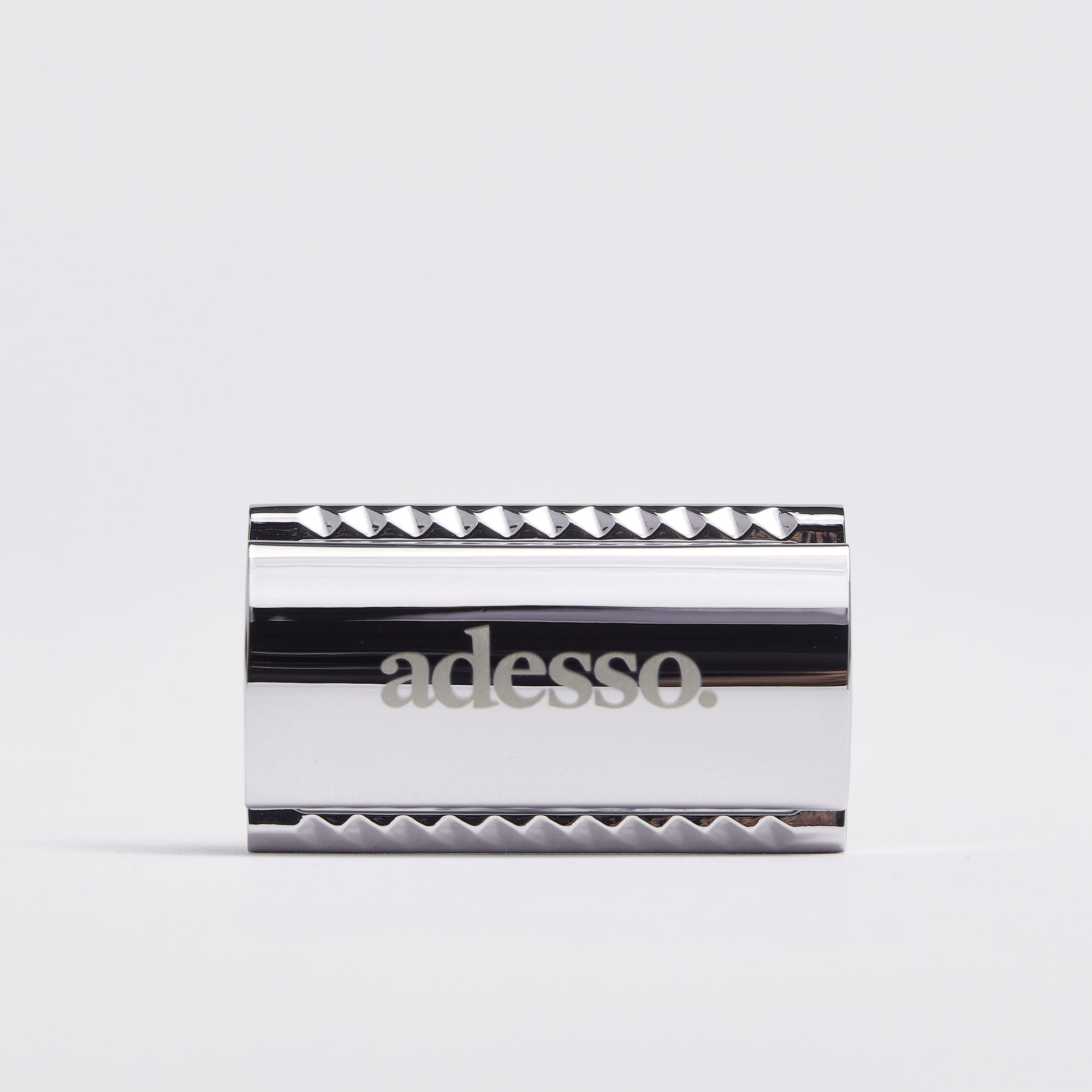 Silver Safety Razor Set