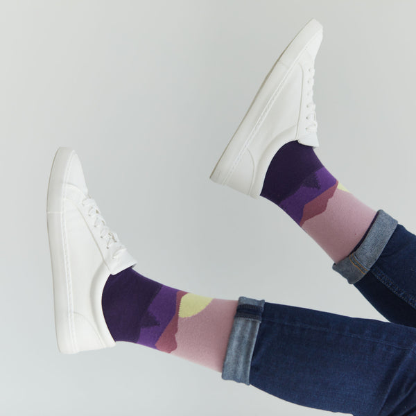 Purple Sunset Socks