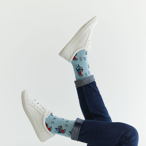 Laughing Sharks Socks