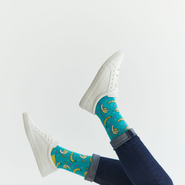 Retro Banana Socks