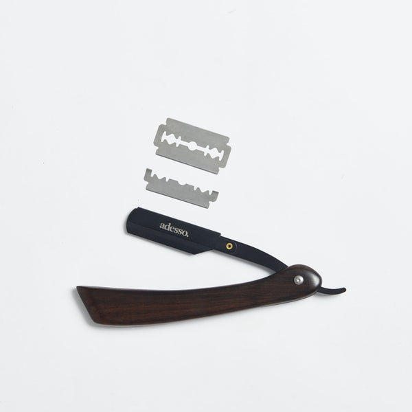 Dark Sandalwood Straight Razor