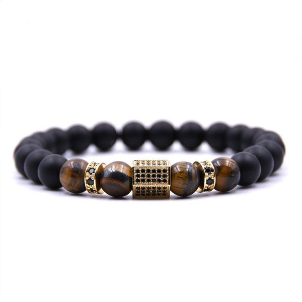 Gold Tigers Eye Bracelet