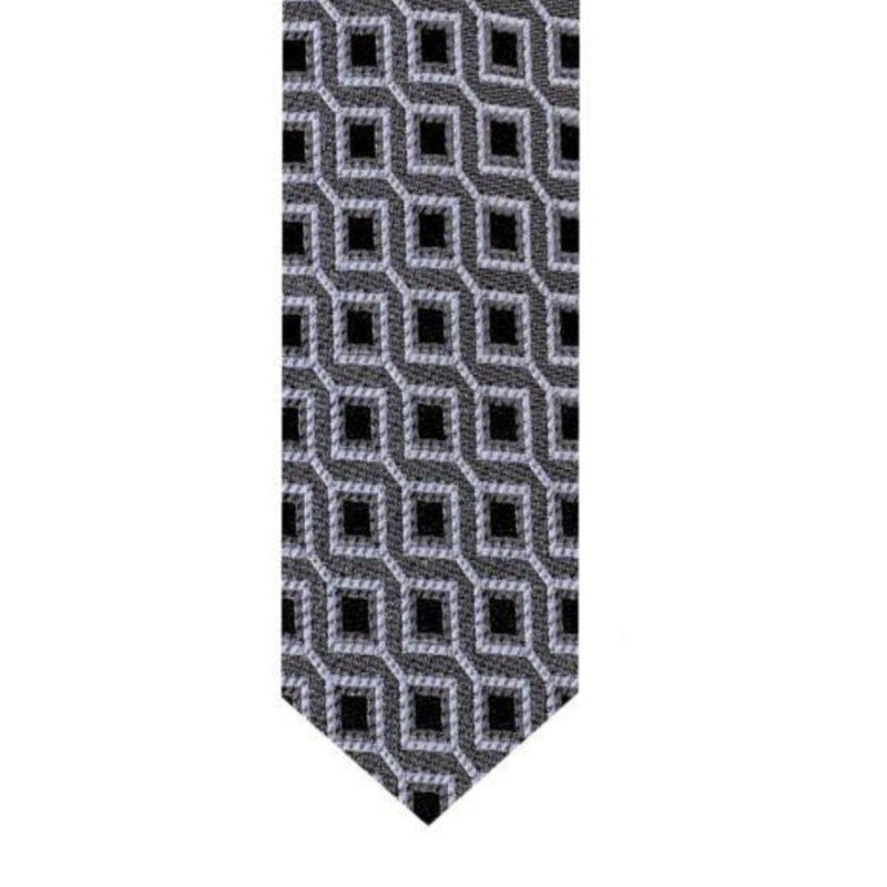 Monochromatic Tile Tie Neckties Adesso Accessories