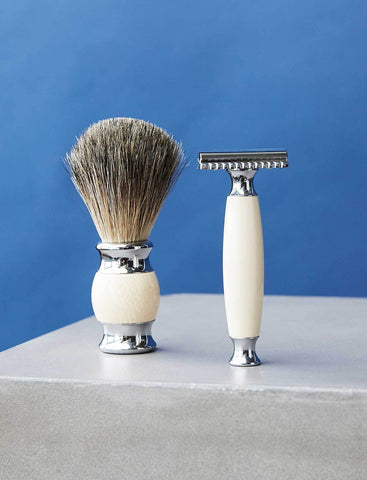 2 PC Ivory Grooming Set
