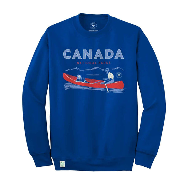 Flannel Foxes Canada National Parks Sweatshirt Apparel Flannel Foxes