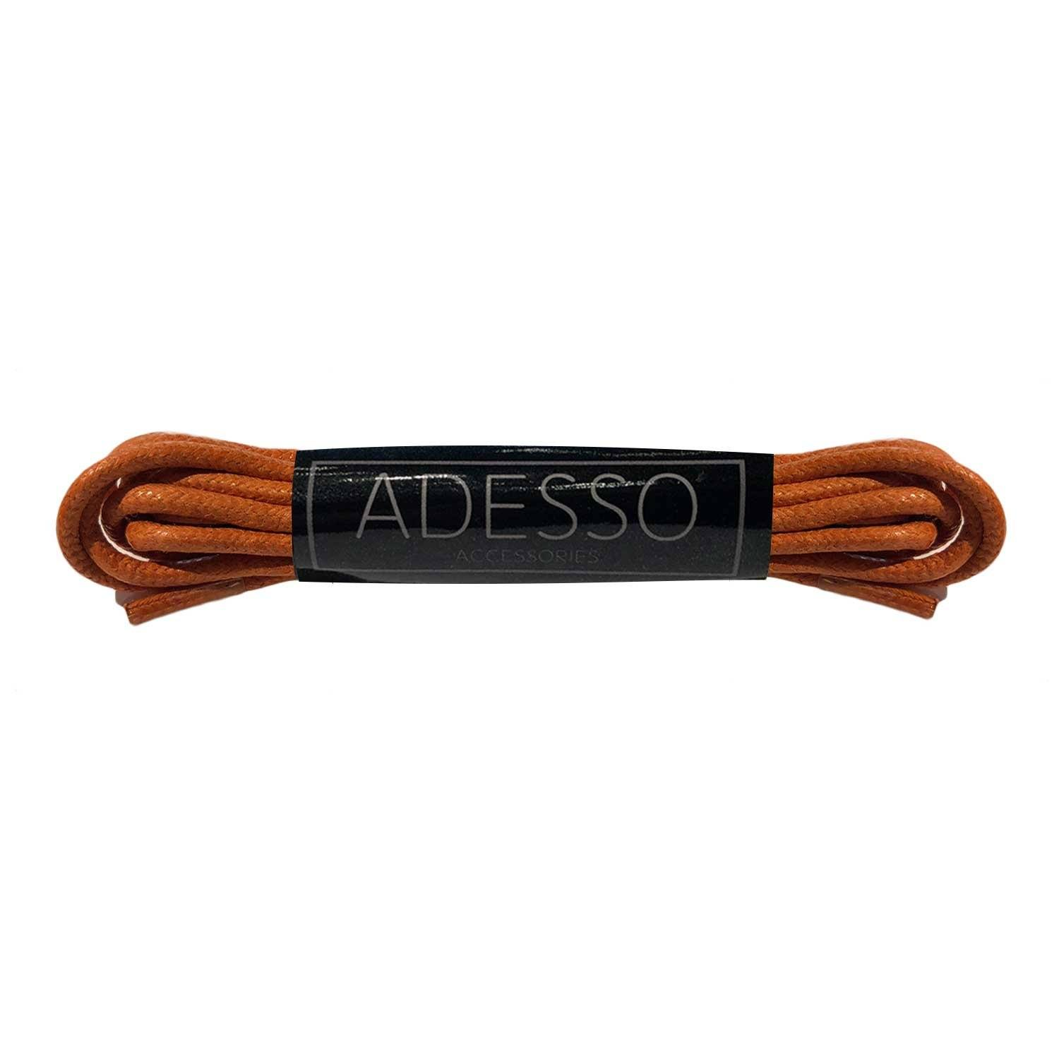 Orange Waxed Cotton Laces Laces Sirocco Fan Accessories