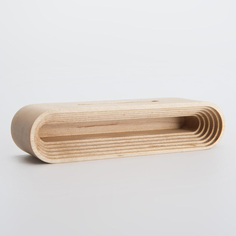 Wooden Phone Speaker Base - Maple