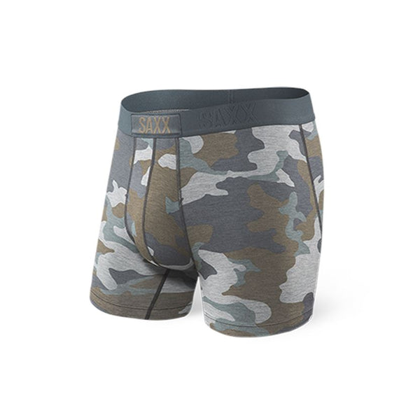 Vibe Boxer Brief - Grey Supersize Camo (GSC) Underwear Saxx