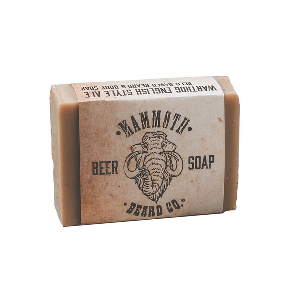 Mammoth Warthog Beer Soap Grooming Supplies Mammoth Beard Co.