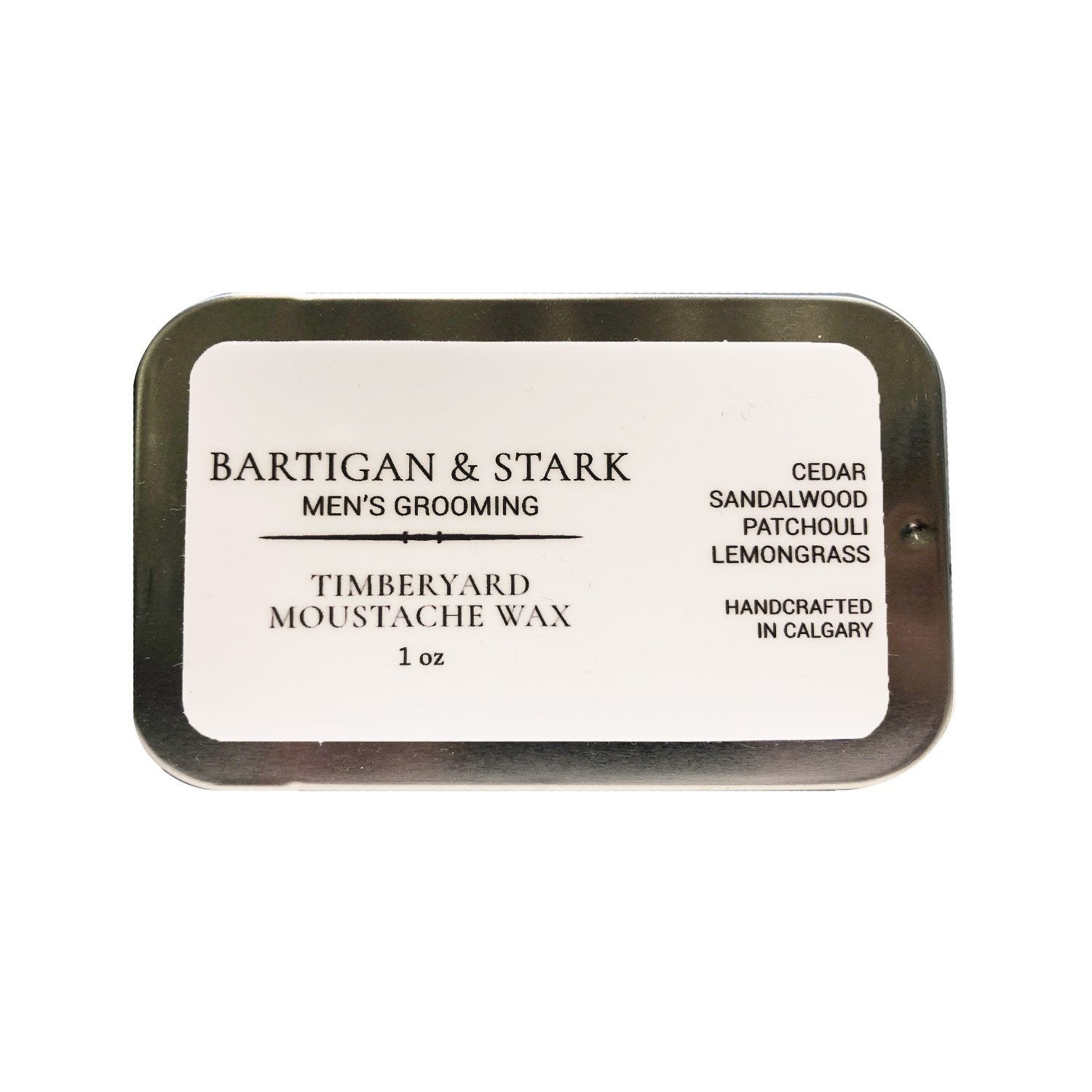 Bartigan & Stark Timberyard Moustache Wax Grooming Supplies Bartigan & Stark