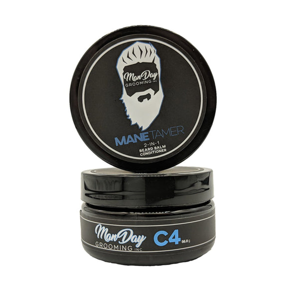 Manday Beard Grooming Set - C4 Scent