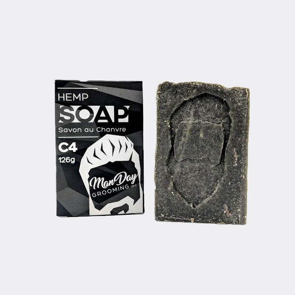 Manday Hemp Face & Body Soap Grooming Supplies Manday Grooming C4
