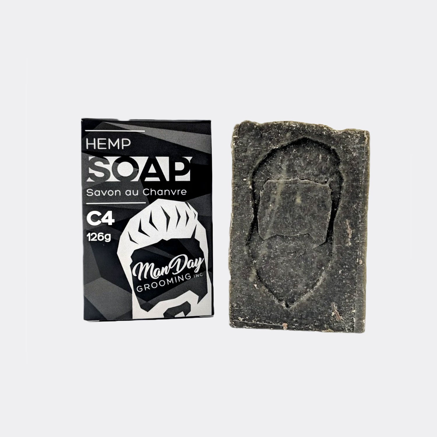 Manday Hemp Face & Body Soap