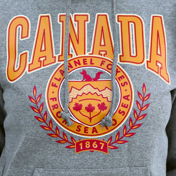 Flannel Foxes Canada Hoodie Apparel Flannel Foxes
