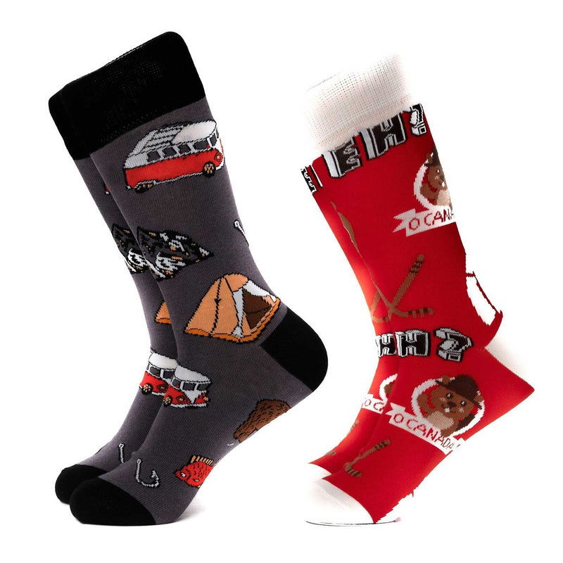 Camping Canada Sock Pack Subscription Items Adesso Accessories