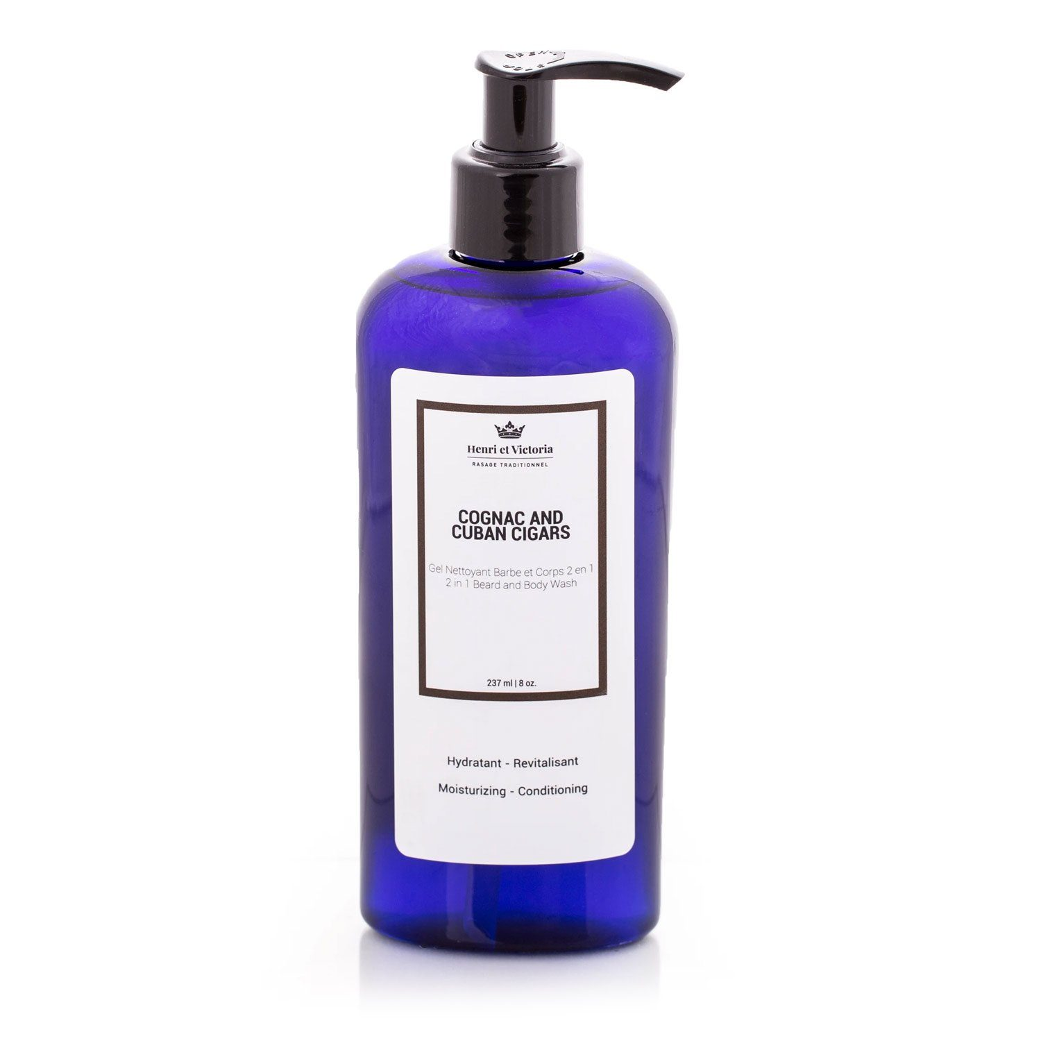 Henri et Victoria Body and Beard Wash Grooming Supplies Henri et Victoria Nautilus