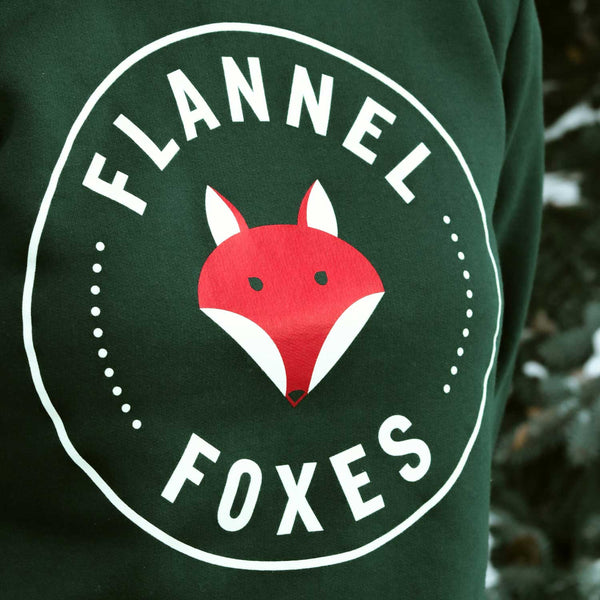 Flannel Foxes Fox Logo Sweatshirt Apparel Flannel Foxes