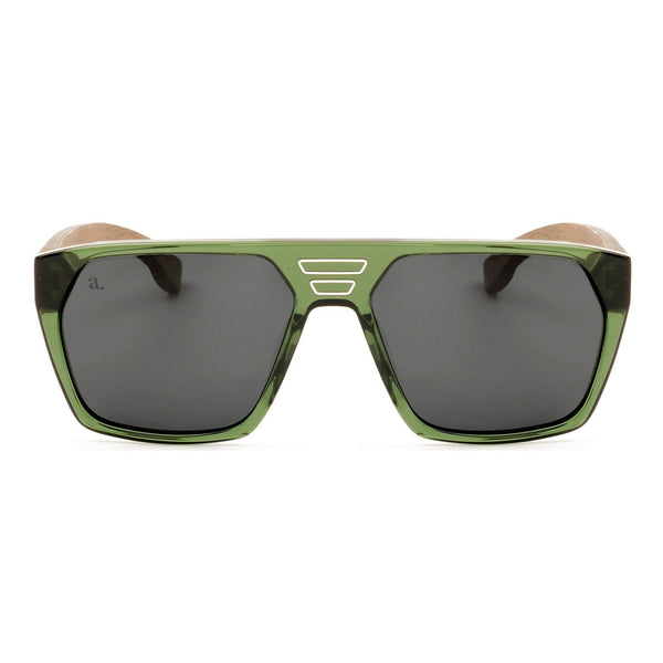 Fortuna Verde Acetate Sunglasses Sunglasses Adesso Accessories