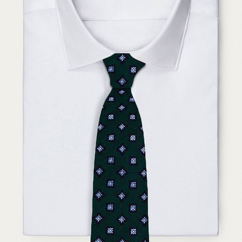 Green Starlight Necktie