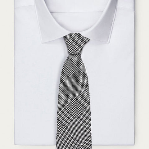 Grey Prince of Wales Tie