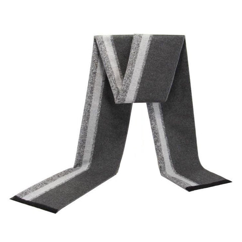 Black & Grey Static Scarf
