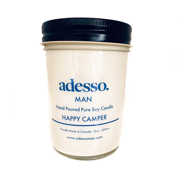 Adesso Man Candles Candles Adesso Accessories Happy Camper