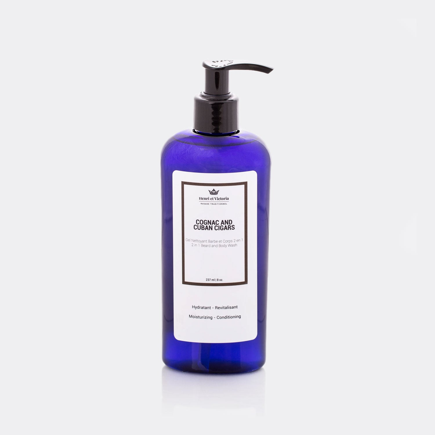 Henri et Victoria Body and Beard Wash