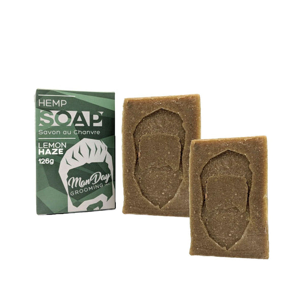 Hemp & Body Soap Two Pack Subscription Items Manday Subscription Lemon Haze