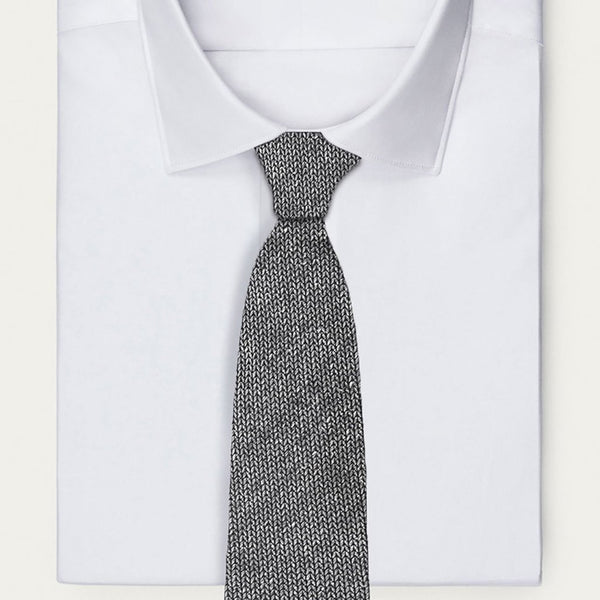 Italian Speckled Knit Tie