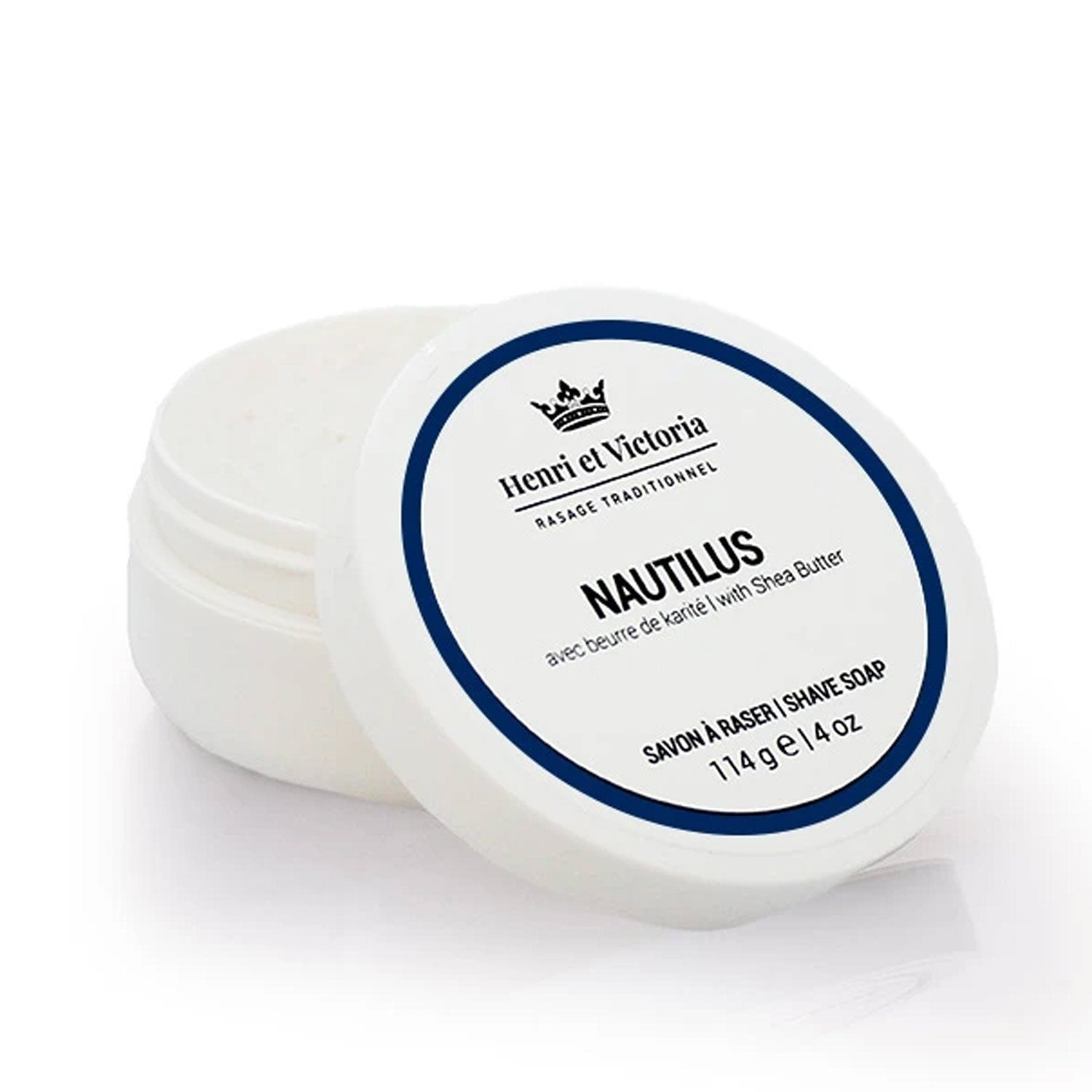 Henri et Victoria Shave Soap Grooming Supplies Henri et Victoria Nautilus - Shaving Soap