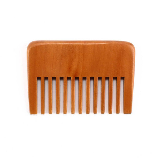 Pearwood Wide Toothed Comb Grooming Supplies Adesso Accessories
