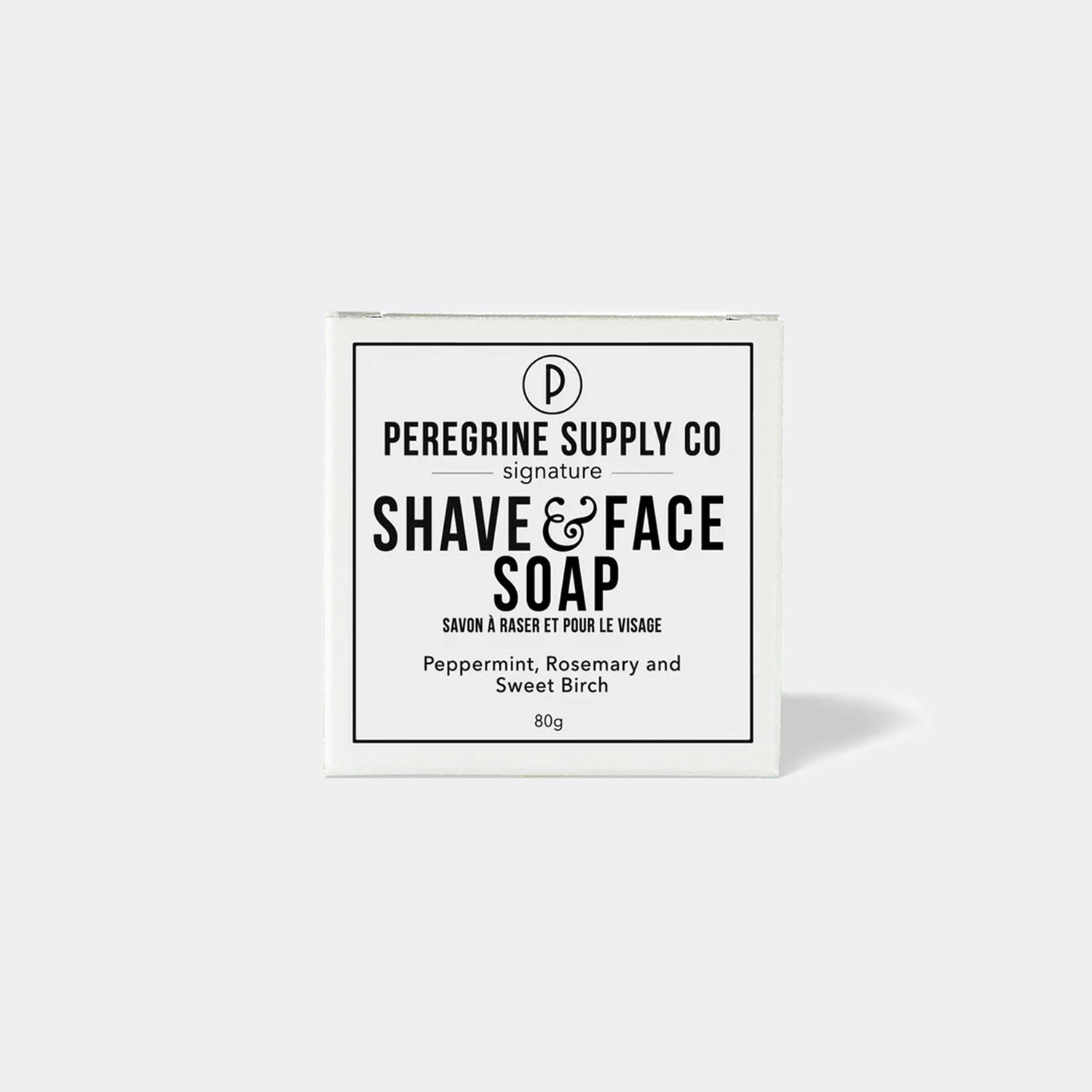 Peregrine Supply Co. Shave & Face Soap