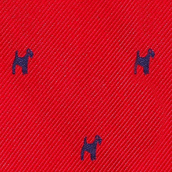 Red Dog Necktie Neckties Adesso Accessories