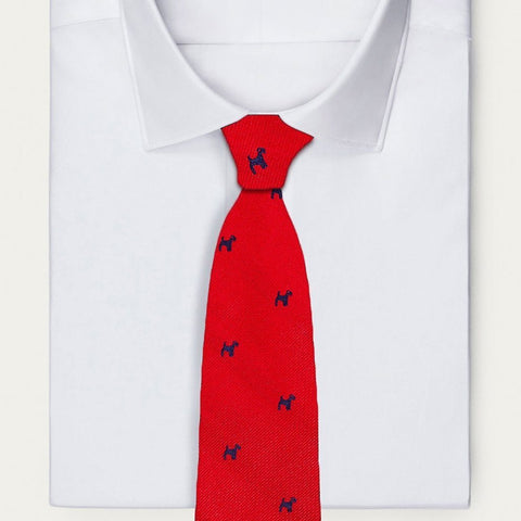 Red Dog Necktie