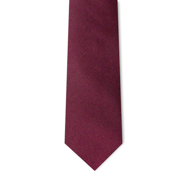 Burgundy Microprint Necktie Neckties Adesso Accessories