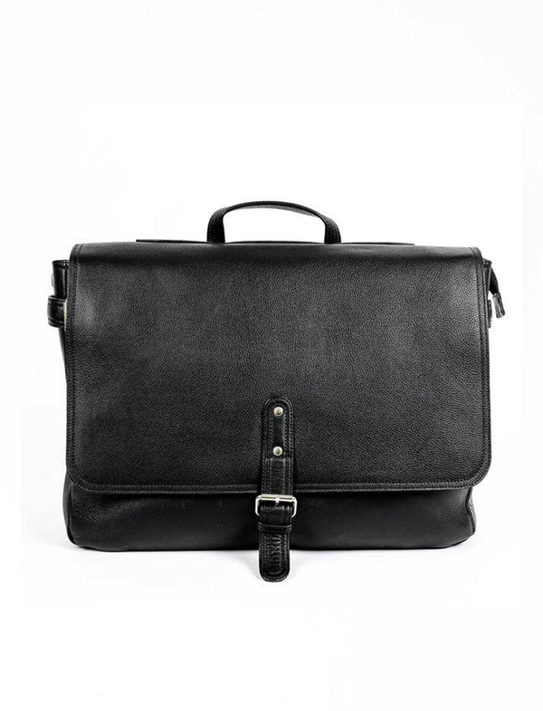 Diego Single Strap Leather Messenger