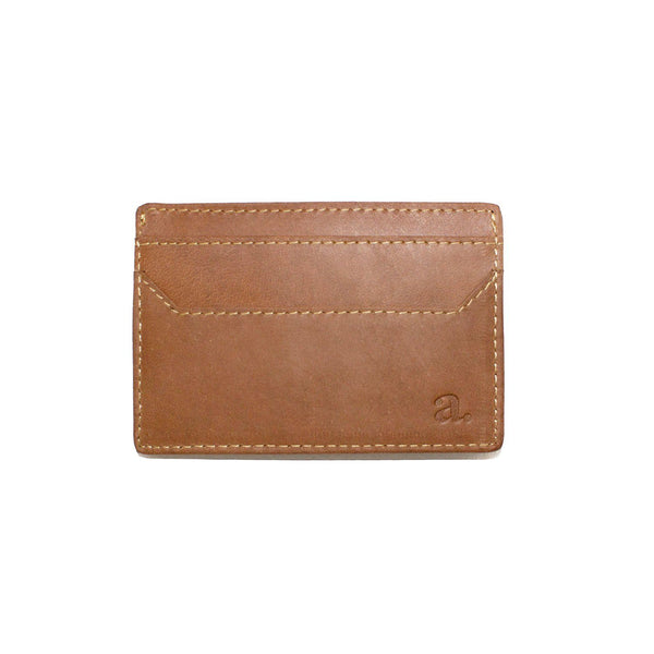 Multi Cardholder Leather Goods Adesso Accessories Tan Saddle