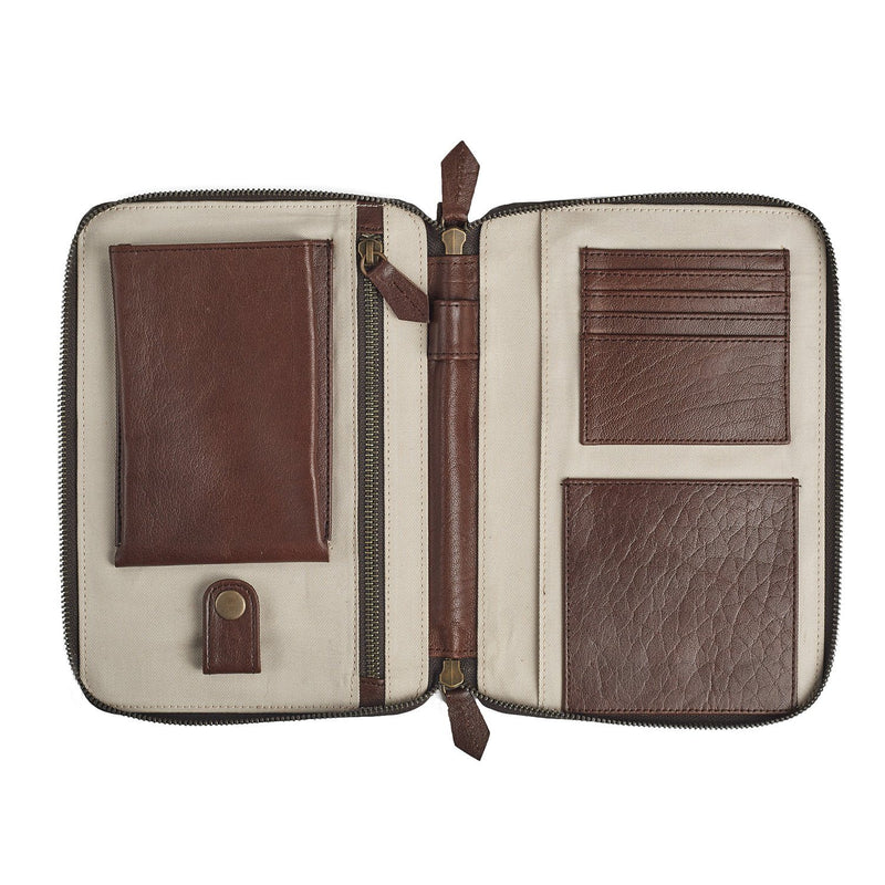 Travel Holder Leather Goods Adesso Accessories