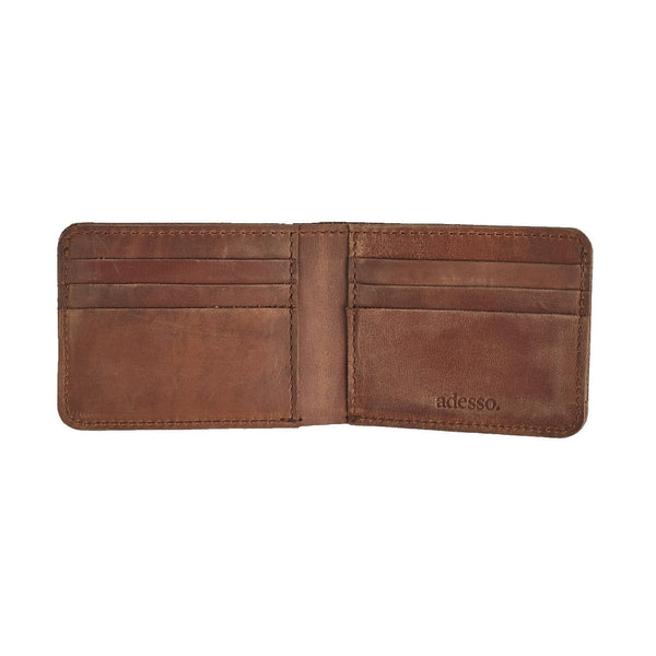 Raw Edge Bifold Wallet