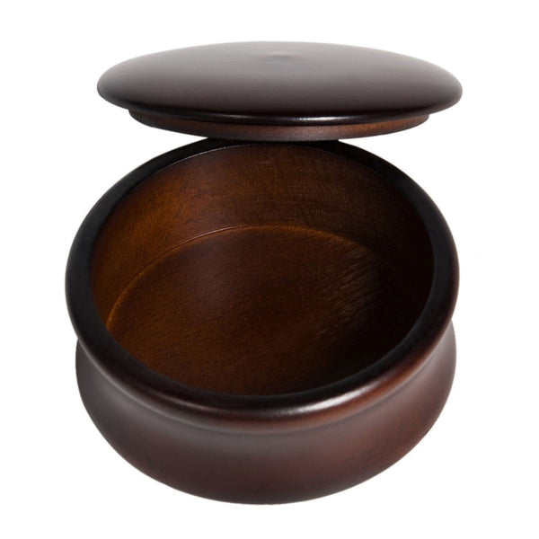 Beech Wood Shaving Bowl Grooming Supplies Adesso Accessories