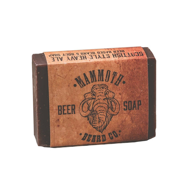 Scottish Ale Beer Soap Grooming Supplies Mammoth Beard Co.