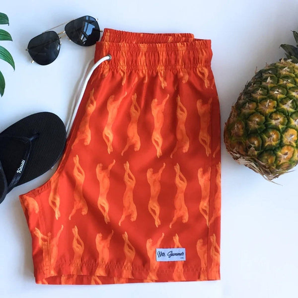 The Feline Goods SHORTS Mr. Summer
