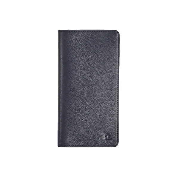 Navy Blue Coat Wallet Leather Goods Adesso Accessories