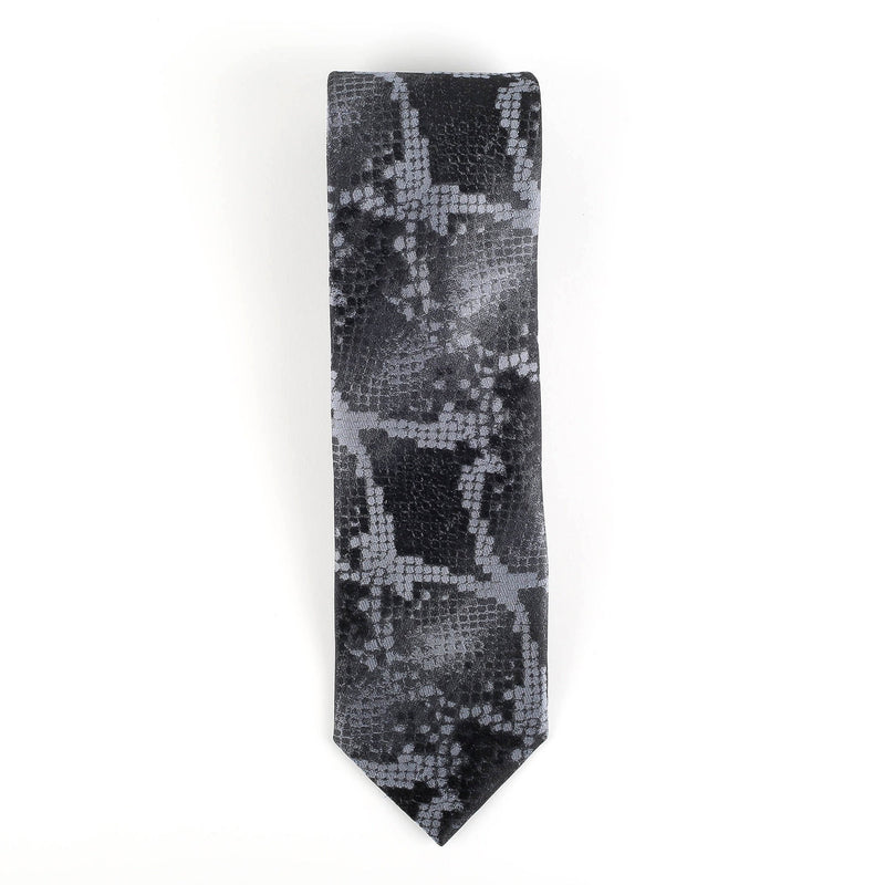 Silk Python Tie Neckties Adesso Accessories